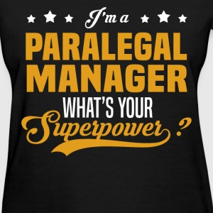 Paralegal Manager - Women's T-Shirt