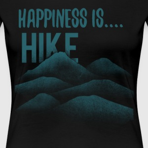 happiness is hike - Women's Premium T-Shirt