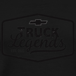 auto news four wheeler chevy truck legends 100000 - Men's Premium T-Shirt