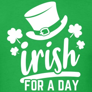 Irish for a day - Men's T-Shirt
