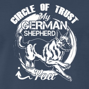 German Shepherd Circle Of Trust Shirt - Men's Premium T-Shirt