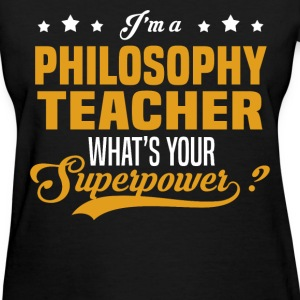 Philosophy Teacher - Women's T-Shirt