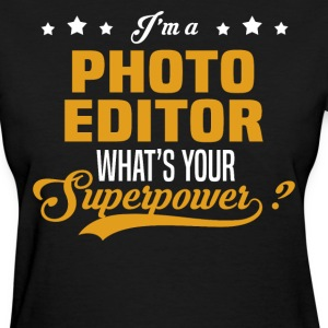 Photo Editor - Women's T-Shirt