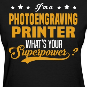 Photoengraving Printer - Women's T-Shirt