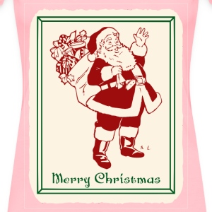 Santa Waving - Women's Premium T-Shirt