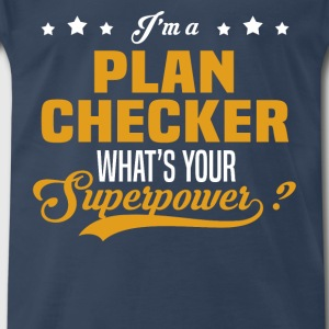 Plan Checker - Men's Premium T-Shirt