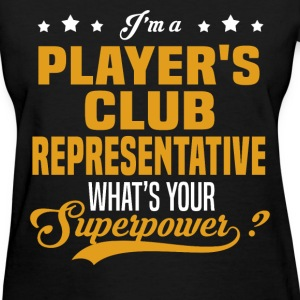 Player's Club Representative T-Shirts - Women's T-Shirt
