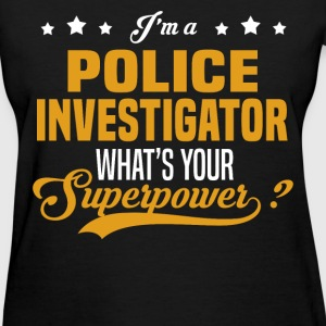 Police Investigator T-Shirts - Women's T-Shirt