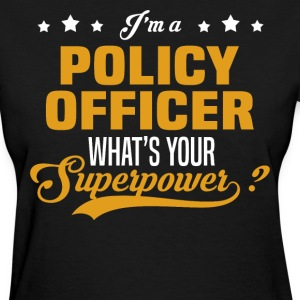 Policy Officer T-Shirts - Women's T-Shirt
