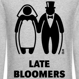 Late Bloomers (Mature Couple / Wedding) Long Sleeve Shirts - Crewneck Sweatshirt