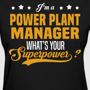 Power Plant Manager T-Shirts - Women's T-Shirt