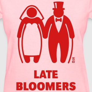 Late Bloomers (Mature Couple / Wedding) T-Shirts - Women's T-Shirt
