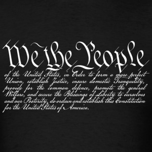 We the People (dark) T-Shirts - Men's T-Shirt