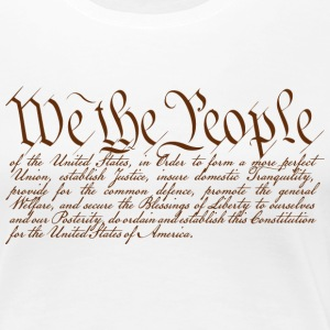 We the People T-Shirts - Women's Premium T-Shirt