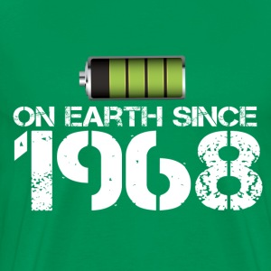on earth since 1968 - Men's Premium T-Shirt