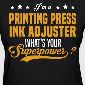 Printing Press Ink Adjuster T-Shirts - Women's T-Shirt