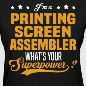 Printing Screen Assembler T-Shirts - Women's T-Shirt