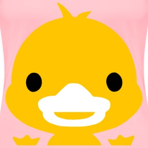Yellow Duckling Icon - Women's Premium T-Shirt