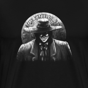Alucard Black and White - Men's Premium T-Shirt