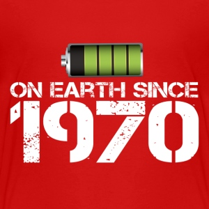 on earth since 1970 - Toddler Premium T-Shirt