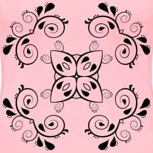 Paisley Design 5 - Women's Premium T-Shirt