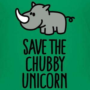 Save the chubby unicorn Baby & Toddler Shirts - Toddler Premium T-Shirt
