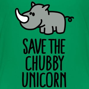 Save the chubby unicorn Kids' Shirts - Kids' Premium T-Shirt