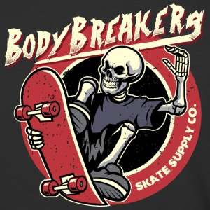 BodyBreakers Skate Supply Co - Baseball T-Shirt