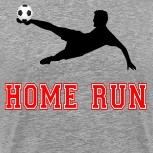 Home Run - Soccer T-Shirts - Men's Premium T-Shirt