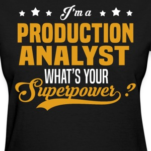 Production Analyst - Women's T-Shirt