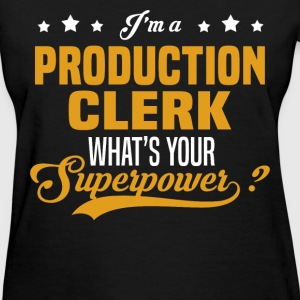 Production Clerk - Women's T-Shirt