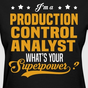 Production Control Analyst - Women's T-Shirt