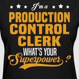 Production Control Clerk - Women's T-Shirt
