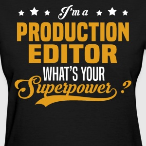 Production Editor - Women's T-Shirt