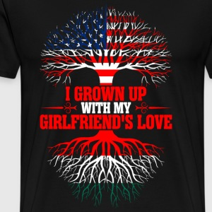 American Grown Up With My Hungarian Girlfriends  T-Shirts - Men's Premium T-Shirt
