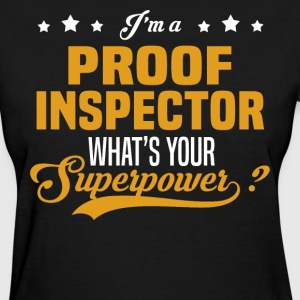 Proof Inspector - Women's T-Shirt