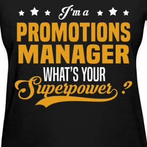 Promotions Manager - Women's T-Shirt