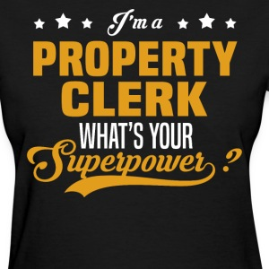 Property Clerk - Women's T-Shirt
