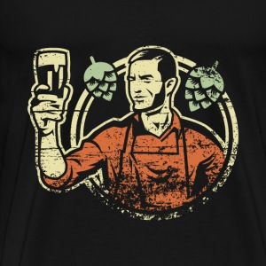 Brewer - Men's Premium T-Shirt