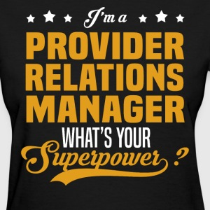 Provider Relations Manager - Women's T-Shirt