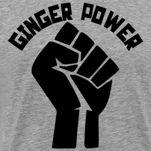 Ginger Power T-Shirts - Men's Premium T-Shirt