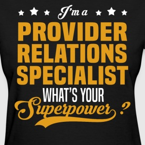 Provider Relations Specialist - Women's T-Shirt