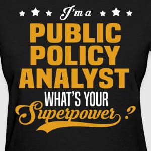 Public Policy Analyst - Women's T-Shirt