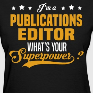 Publications Editor - Women's T-Shirt