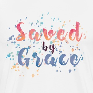 Saved by Grace Tee! - Men's Premium T-Shirt
