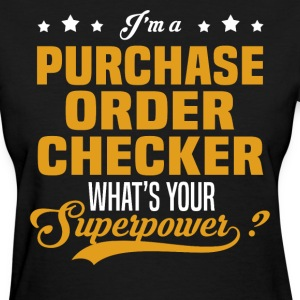Purchase Order Checker - Women's T-Shirt