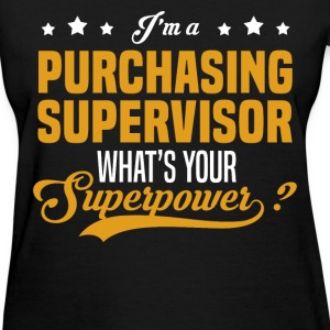 Purchasing Supervisor - Women's T-Shirt