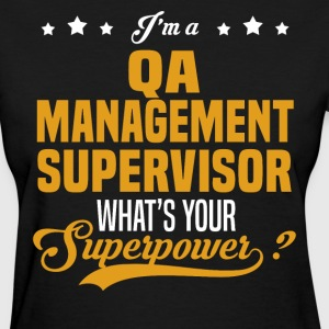 QA Management Supervisor - Women's T-Shirt