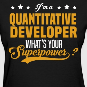 Quantitative Developer - Women's T-Shirt