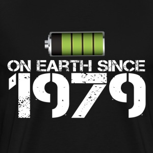 on earth since 1979 - Men's Premium T-Shirt
